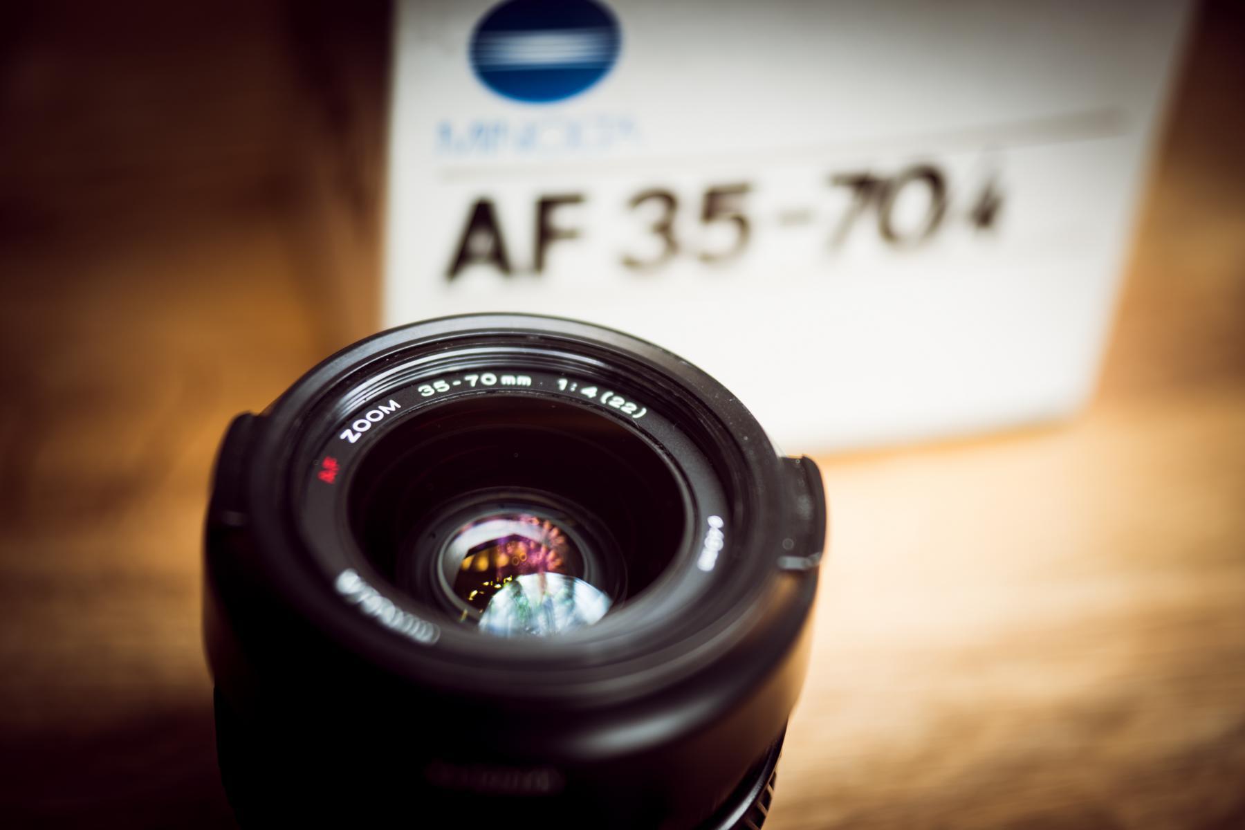 Minolta AF 35-70mm f4